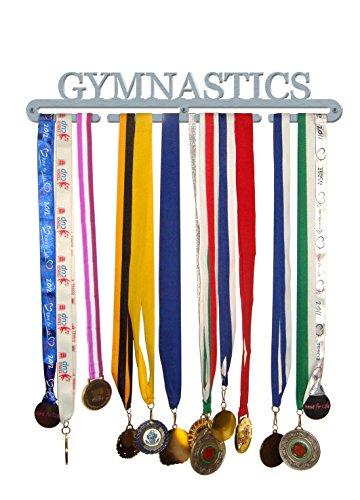 De Gimnasia 'Medalla Percha Pantalla Soporte de Acero Inoxidable–Fabricado en Gran Bretaña
