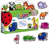 Imanes nevera para niños Animales Zoo 29 pcs - Magneticos para niños Imanes juegos magneticos niños- Juegos niños 2 años educativos Animales para niños Animales juguetes niños 2 años