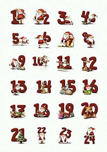 HERMA Weihnachts-Sticker DECOR