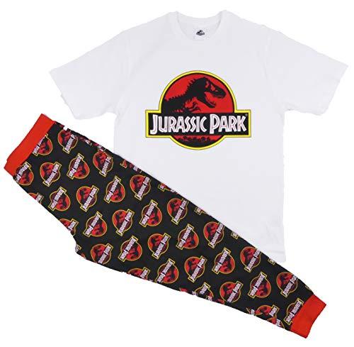Pijama para hombre, diseño de Batman, Spiderman, Superman, Avengers, Jurassic, Park, Harry Potter, talla S-XL - Jurassic Park, S