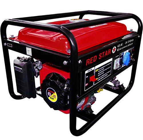 Mosa 5311020Generatoren Red star-ge-3700Motor Benzin 4temps-200cc 2,5kW