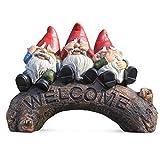 Garten-Ornamente, Outdoor-Dekoration, Geschenke, Gartenzwerge, Zubehör, Weihnachtsdekoration, Willkommensschild, Statuen, Figur für Hof und Veranda