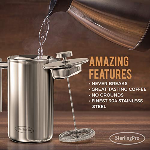 a Sterling Pro French Press