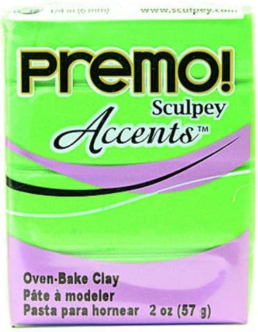 Challenge the lowest price of Cheap mail order specialty store Japan Sculpey Premo Premium Polymer Clay Piece Bright 4 Pearl Green