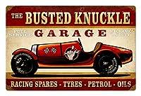 なまけ者雑貨屋 Race Car ブリキ 看板 メタル プレート アメリカン 雑貨 アンティーク ヴィンテージ レトロ ポストカード