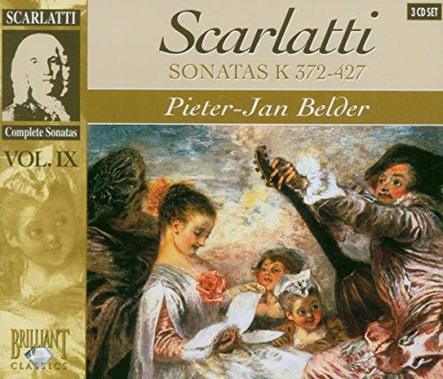 SCARLATTI: Sonatas Vol. IX (K 372-427)