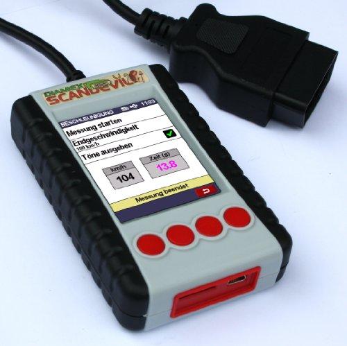 Diamex Scandevil OBD2 Scanner manuel avec écran couleur intégral