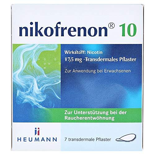 NIKOFRENON 10 Heumann transdermale Pflaster 7 St