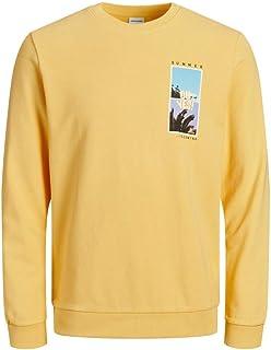 Jack & Jones Men's Jorquiver Sweat Crew Neck Sweatshirt