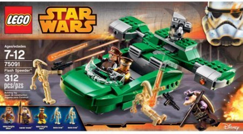 312 Count LEGO Star Wars Flash Speeder Model 75091 by LEGO