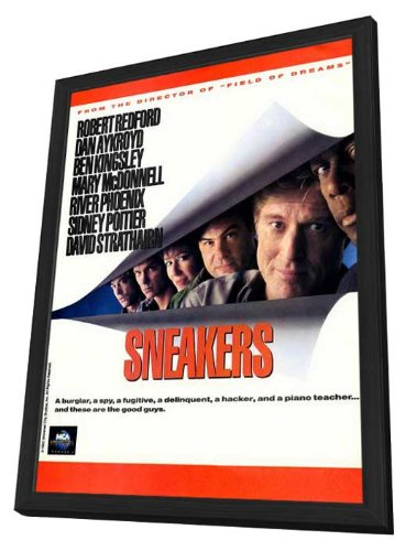 Sneakers - 27 x 40 Framed Movie Poster
