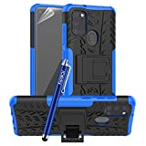 iCatchy For Samsung Galaxy A21S Case, Heavy Duty Hard Tough