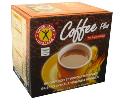 NATUREGIFT COFFEE PLUS WEIGHT LOSS DIET 1 BOX/10 SACHETS