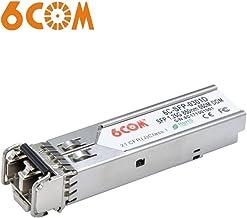 6COM para Ubiquiti UF-MM-1G EdgeSwitch/EdgeRouter Transceiver, 1.25Gb/s SFP Module, MMF, 850nm, 550m