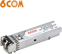 6COM 1.25Gb SFP Module for Extreme I-MGBIC-GSX/MGBIC-LC01, 1000Base-SX SFP Transceiver, Multimode, 850nm, 550m