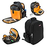 JetPack Prime DJ Backpack for DVS, Mobile, or Club Gigs, Bag Carry Mixers S9, 62, etc, Laptop, Stand, Tablet, Headphone, Vinyl Records, USB Mobile Devices, Needle Case, Cables, Microphone & More