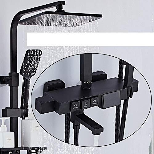 Digitales Duschset mit konstanter Kupfertemperatur@QX1