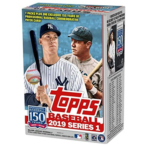 Amazoncom Topps 2019 Baseball Series 1 Trading Cards Relic