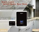 Precio de fábrica baño ducha eléctrica calentador de agua eléctrico instantáneo calentador de agua eléctrico sin tanque eléctrico con accesorios de cromo