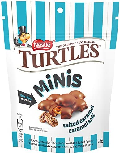 TURTLES Mini Salted Caramel Pouch 142g Imported from Canada product image