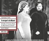 Verdi: I Vespri Siciliani by Giorgios Kokolios-Bardi (2014-08-03)