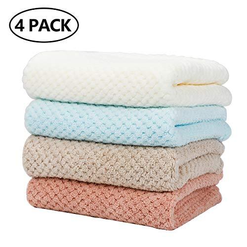 Toallas para dedos de 35 x 75 cm, 4 unidades, toalla de