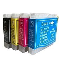 brother(ブラザー) LC10 4色セット 純正互換インクカートリッジ ICチップ付・残量表示機能 HIBIコレオリジナル