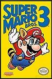 Close Up Super Mario Bros. 3 Poster (93x62 cm) gerahmt in:
