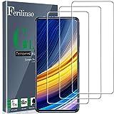 Ferilinso [3 Stück] Xiaomi Poco X3 Pro Panzerglas