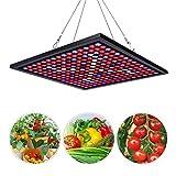Corayer Led Pflanzenlampe 45W LED Grow Lampe, Vollspektrum Grow Light mit 225 LEDs 6-Band pflanzenlicht UV IR Rot Blau Licht Wachstumslampe für Veg Gewächshaus Grow Box