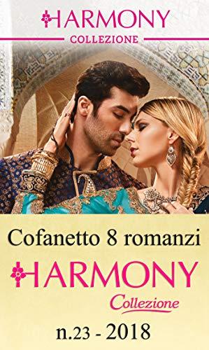 Cofanetto 8 Harmony Collezione n.23/2018 (Cofanetto Collezione Vol. 23)
