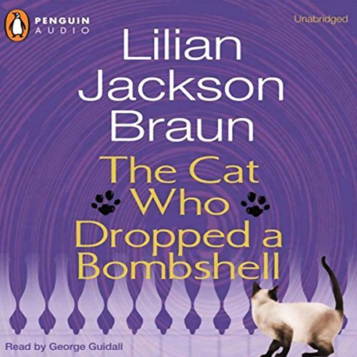 The Cat Who Dropped a Bombshell  audiobook cover art