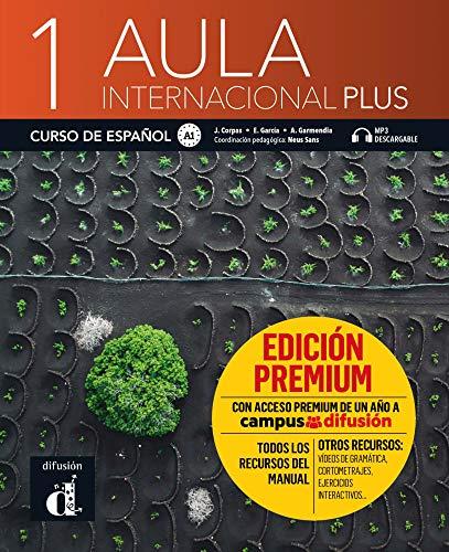 Aula internacional Plus 1 (A1): Internationale Ausgabe. Libro del alumno edición + audios y vídeos online + Premium