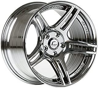 Cosmis Racing S5R 17x9 +22mm 5x114.3 Black Chrome Rim Wheel