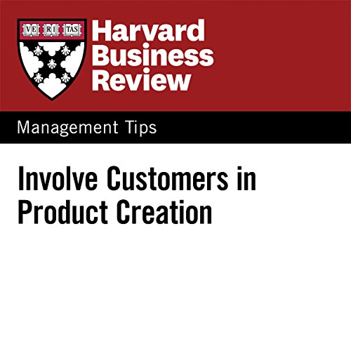 Involve Customers in Product Creation audiobook cover art