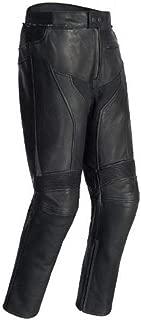 TourMaster Element Cooling Men's Leather Motorcycle Pants (Black, Large)