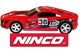 Ninco- Slot Car Red 1/43 Coche, Color Variado (21501)