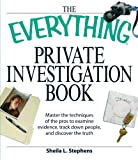 Image of The Everything Private Investigation Book