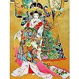 5D Diamond painting, Chica kimono DIY 5D Diamante Pintura Kit, Pintura por...