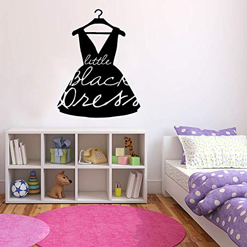 Calcomanías de vinilo para pared, ropa de moda, modelos de ropa de boutique, tienda de ropa para mujeres, decoración de ventanas, pegatinas para dormitorio de niñas