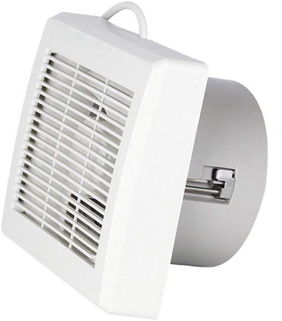 RJSODWL Extractor De Aire Cuarto De Baño, Ventilador Silencioso For Una Mejor Circulación del Flujo De Aire del Aire del Hogar De Bajo Ruido para