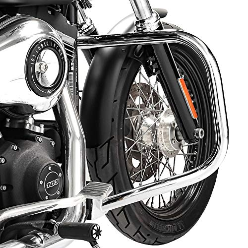 Craftride Engine Guard for Harley Davidson Dyna Low Rider 06-17 DN1 chrome