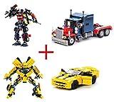 GUDI Kit de construcción de Transformers. Incluye los 2 Modelos.