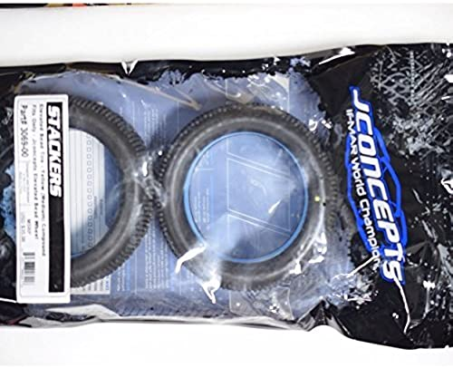 JCONCEPTS 3069-00 Stackers 1 8 Truck Tire Gelb (2) by J Concepts