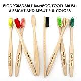 Zoom IMG-1 spazzolino bamboo spazzolini di moderata