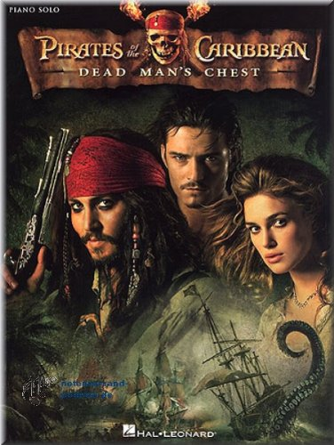 Pirates Of The Caribbean - Dead Man's Chest - Piano Solo - Klaviernoten [Musiknoten]