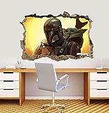 Ytsdd 3D Wall Stickers Murals Wallpaper, Baby Yoda...
