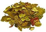 MERCAVIP Thermovip. Popurrí perfumado de Flores secas Color Amarillo. Formato Súper Ahorro de 400gr.