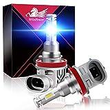 WinPower H8 Angel Eyes LED Headlight Bulbs 8000K...