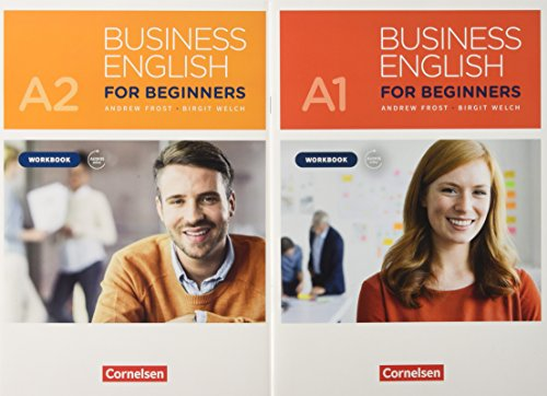 Business English for Beginners - New Edition: A1/A2 - Workbooks mit Audios als Augmented Reality: 521061-4 und 521069-0 im Paket: Workbooks mit ... inkl. Audios - 521061-4 und 521069-0 im Paket